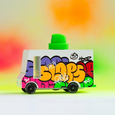 Candylab Graffiti Truck  | Candylab toy cars  | Lucas loves cars