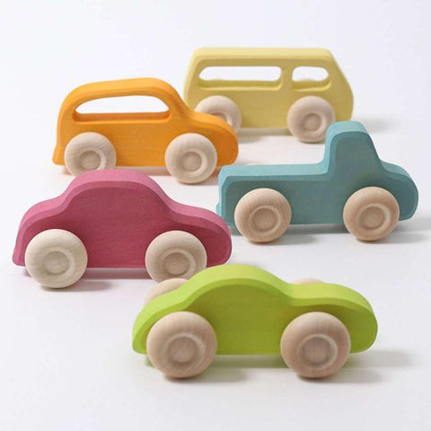 GRIMMS Slimline cars  | Wooden toys | Lucas loves cars