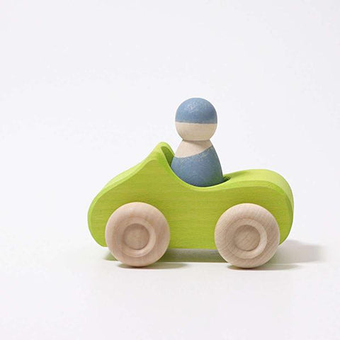 Convertible car green | Grimms wooden toys | Lucas loves cars