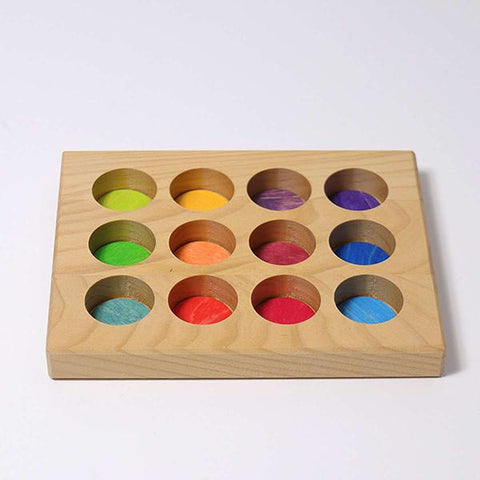 GRIMMS - Sorting Board Rainbow