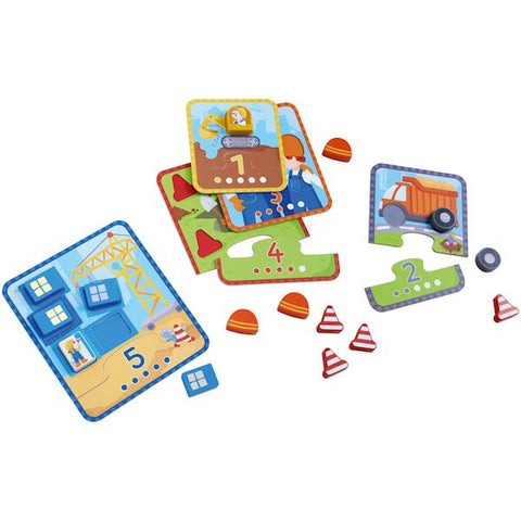 Wooden toddler puzzle | HABA | Lucas loves cars