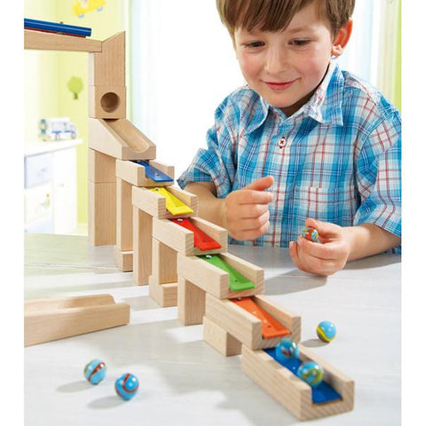 Melody building blocks | Haba toys |  Lucas loves cars