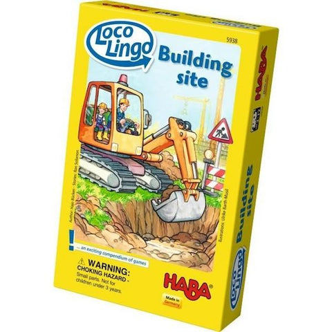 Loco Lingo | Building Site Game | Haba toys | Games for 4 yr olds | lucas loves cars