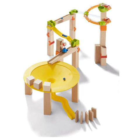 Haba toys | Ball Track Funnel Set | lucas loves cars