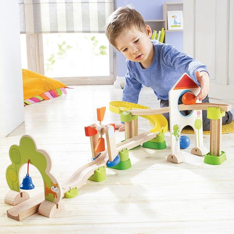 Haba toys | Ball Track Rollerby Windmill Track | Lucas loves cars
