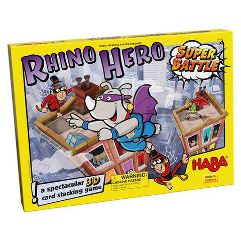 Rhino Hero Super Battle | Haba toys | card games | lucas loves cars