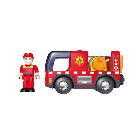 Fire truck with siren | Hape Fire truck | Hape | Lucas loves cars
