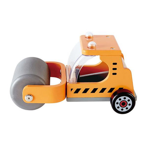 Hape Steam Roller  | Construction truck toy | Hape Toys | Lucas loves cars
