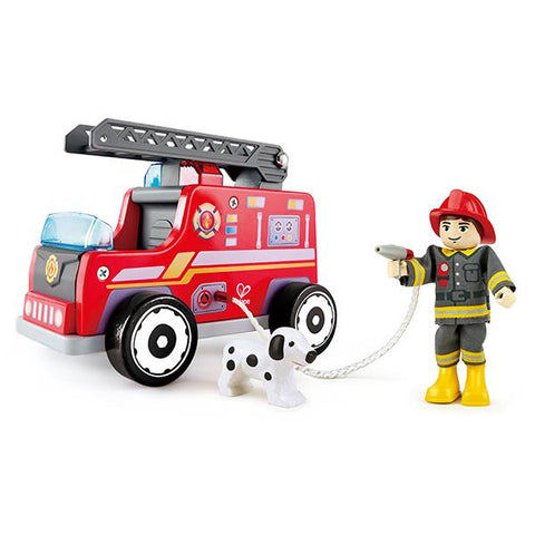 Fire Rescue Truck | Hape |  Lucas loves cars