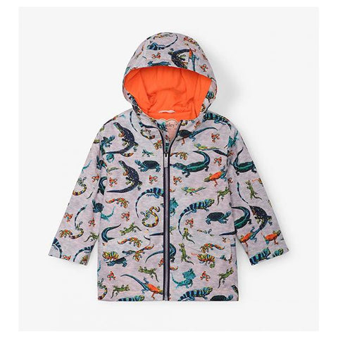 Kids Raincoat | Hatley Australia  | Reptiles raincoat | Lucas loves cars