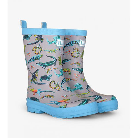 Hatley Rainboots | Reptile gumboots  | boys Gumboots | Lucas loves cars