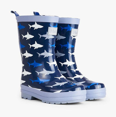 Hatley Rainboots Shark Frenzy | Hatley Raincoats  | Lucas loves cars