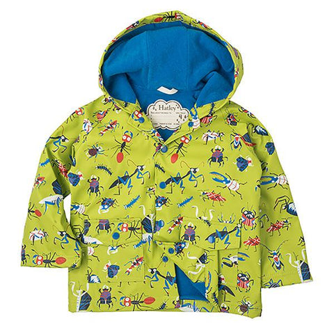 Hatley insects raincoat | Lucas loves cars