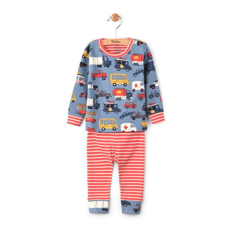 Hatley Rush Hour Baby Pajama Set | Hatley |  Lucas loves cars