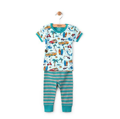 Hatley Surf Island Pajama Set | Hatley |  Lucas loves cars