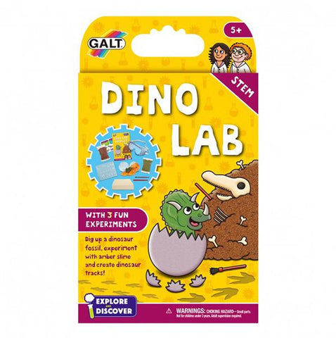 Dinosaur lab | Galt science kit | Lucas loves cars