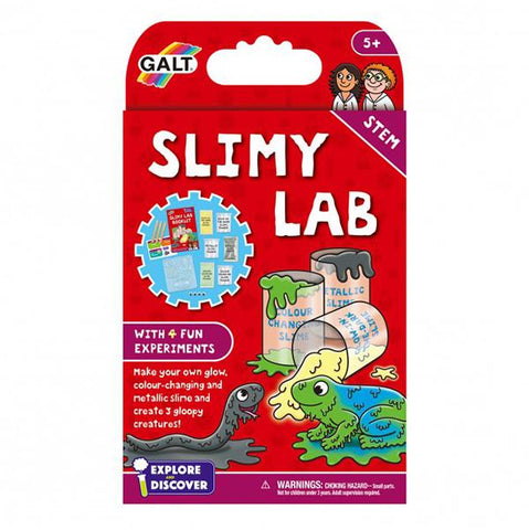 Slimy lab kit | Galt science kit | Lucas loves cars