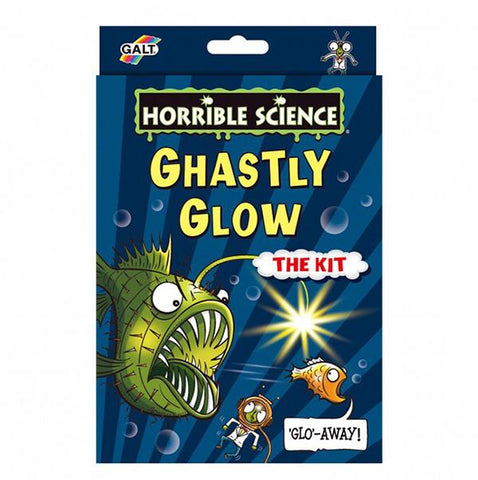 Ghastly Glow | Galt science kit | Lucas loves cars