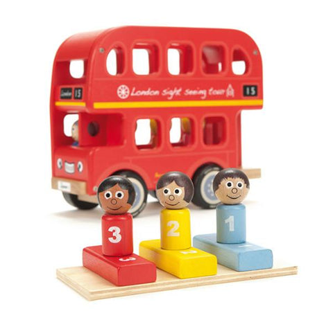 Indigo Jamm | Bernies number bus | London bus toy | Lucas loves cars