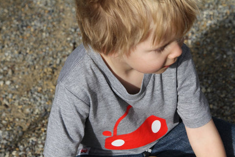 Lucas loves cars t-shirt. Little red car | Lucaslovescars.com.au