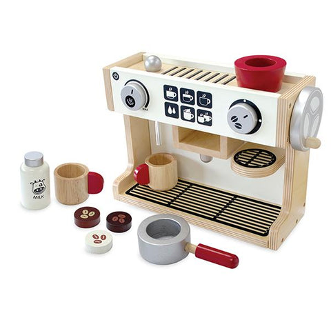 Barista Coffee Maker | Wooden I'm toy |  Lucas loves cars