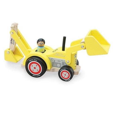 Indigo Jamm | Digger Dave | Construction truck toys | Lucas loves cars