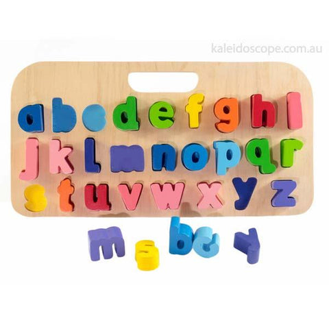 Lower alphabet puzzle | Wooden toys | Lucas loves cars