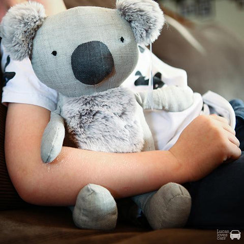 Keith the Koala soft toy | Nana Huchy  | Koala toy |  nana huchy koala | Lucas loves cars