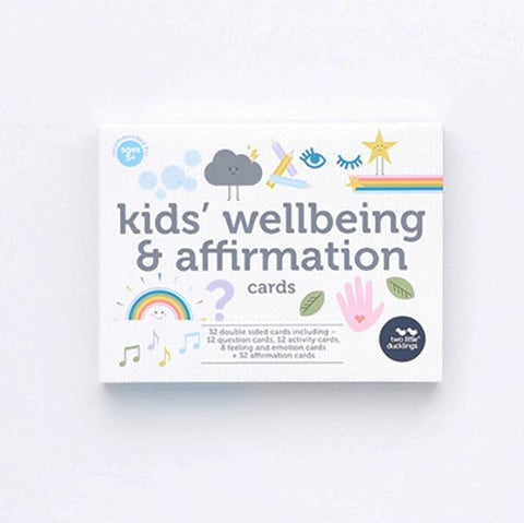 Kids Wellbeing and affirmation cards | Mindset for kids | Two Little Ducklings | Lucas loves cars