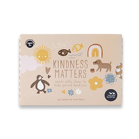 Kindness Matters cards | Flash Cards | Two little ducklings | Lucas loves cars