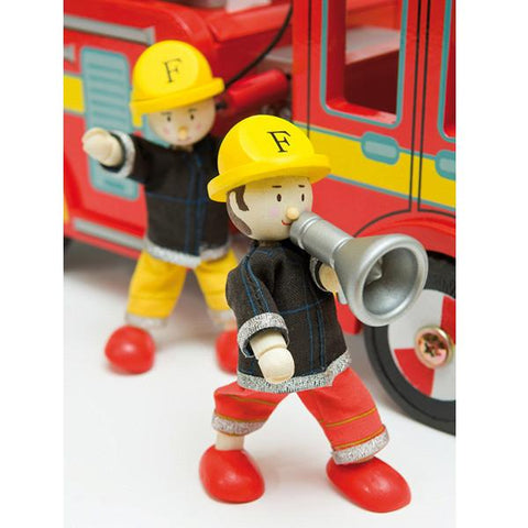 Budkin Firemen set of 3 | Le Toy Van |  Lucas loves cars
