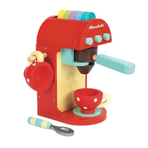 Cafe Machine | Le Toy Van |  Lucas loves cars