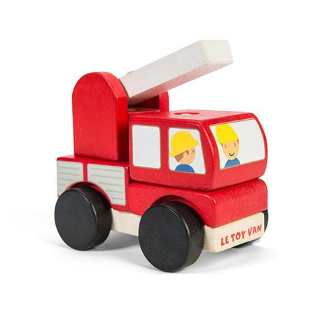 Le Toy Van wooden fire engine | Lucas loves cars