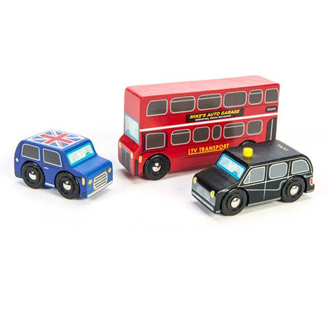 Le Toy Van cars |  Little London Vehicles |  Lucas Loves Cars