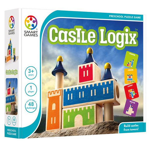 Castle Logix | Smart Games |  Lucas loves cars