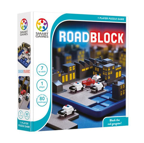 Road Block | smart game | Lucas loves cars