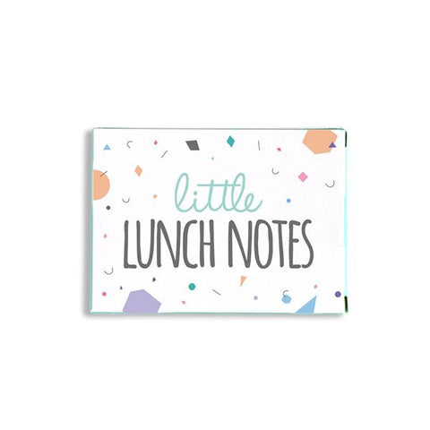 Little lunch notes | School | Lucas loves cars