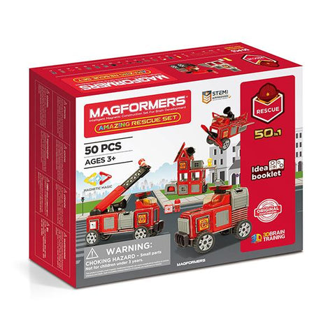 Fire Station toys  | Magformers STEM toy | Lucas loves cars