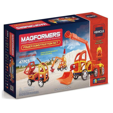 Magformer | Power Construction | Lucas loves cars
