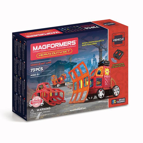 MAgformers | Heavy Duty | Lucas loves cars