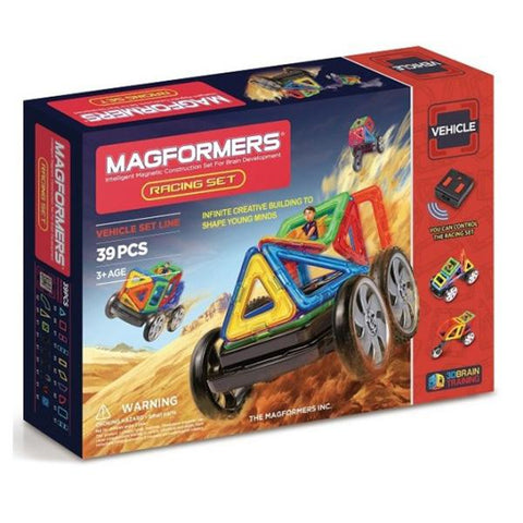 MAgformers Racing car set | STEM toys  | Lucas loves cars