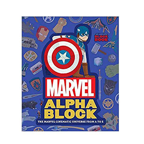 Marvel Alphablock | Kids books | Gift for 5 year old | Lucas loves cars