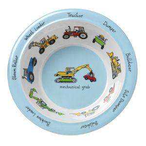 Tyrrell Katz Melamine bowl with cars and trucks | Lucas love cars
