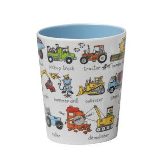 Tyrrell Katz Melamine cup cars and trucks | Lucas loves cars