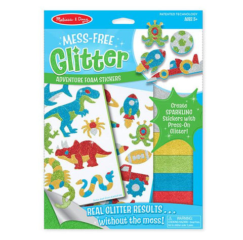 Mess Free Glitter stickers - Adventure
