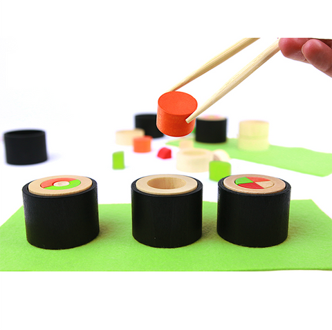 Wooden sushi game | Lucas loves cars