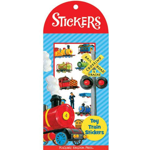 Mini Stickers Toy Trains