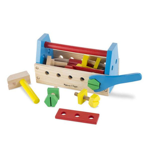 Melissa and Doug | Wooden Toy Tool kit | Lucas loves cars