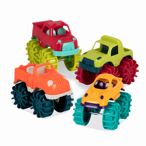 Mini Monster Trucks  | Car toys | Battat toys | Lucas loves cars