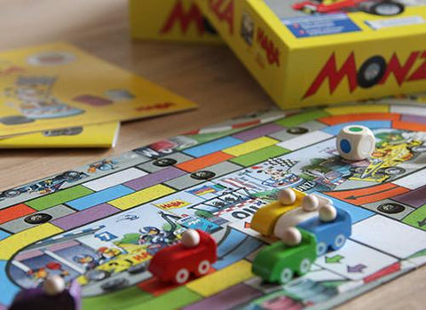HABA toys | Monza board game | Lucas loves cars